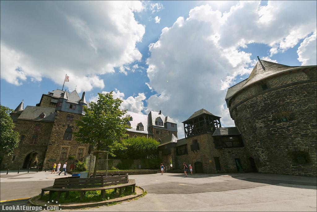 Евротур. Замок Бург. Шлоссбург.