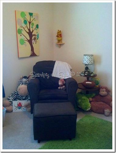 jungle nursery chair