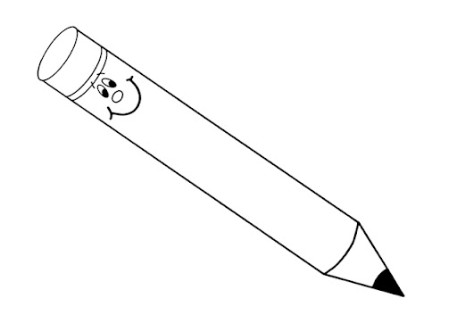 dibujos para colorear de un lápiz imagui. dibujos de lápices mejor ...