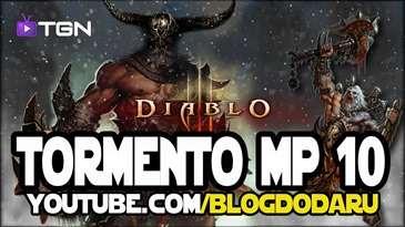 Diablo 3 - Level Tormento - MP10 Gameplay