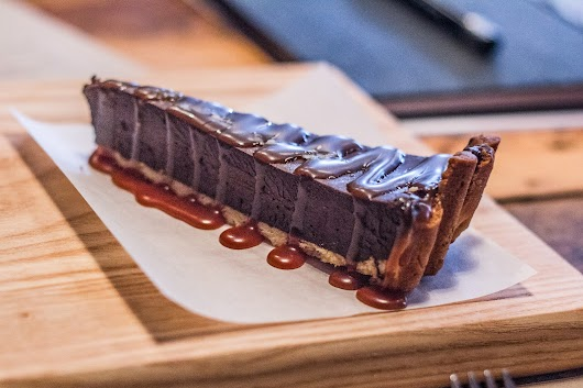 Chokolade, kaffe og saltkaramel hos Ditto Spiseri i Hellerup -  Mikkel Bækgaards Madblog
