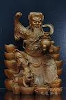 『九龍佛像藝品』-線上神明小百科-武財神趙公明-黑虎玄壇-寒單爺「炸寒單」-上篇