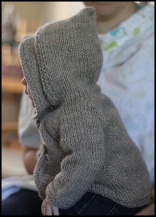 woven basket - side hood