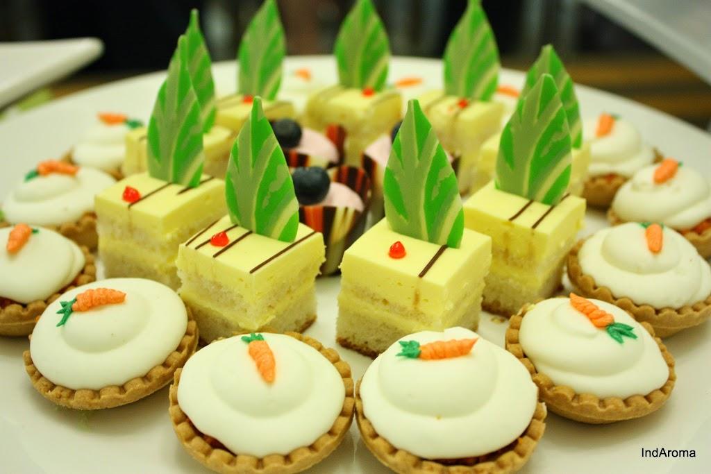 Desserts Gajjar Halwa Tart