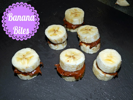 Healthy Snack Ideas Banana Bites