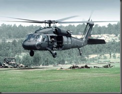 A Black Hawk Helicopter