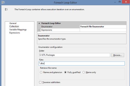 ForEach loop File Enum configuration 01
