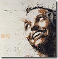 Mutation-Yūrei-Acrilico-su-tessuto-Damasco-cm.80x90-2013-dipinto-con-pennelli-mani-e-piedi