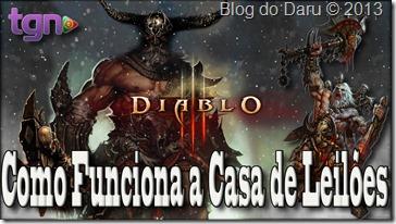 Diablo 3 - Como funciona a Casa de Leilões