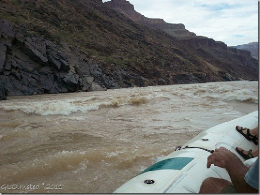 Serpentine Rapid ~RM106.6 Colorado River trip Grand Canyon National Park Arizona