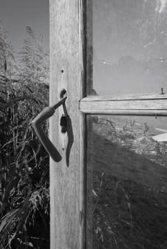 old wooden door at Cherhana (Vama Veche)