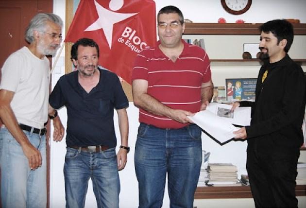 Ciclistas urbanos de Braga reuniram com Bloco de Esquerda
