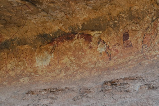 Seminole Canyon rock art tour