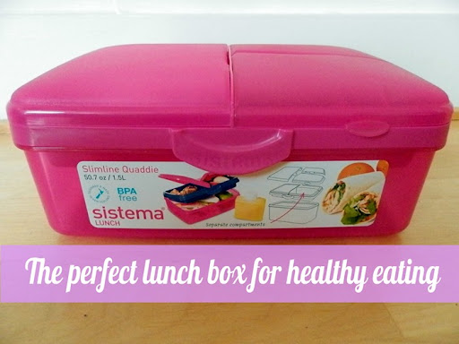 multi section lunch box tupperwear