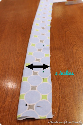 quiet book cover strap tutorial