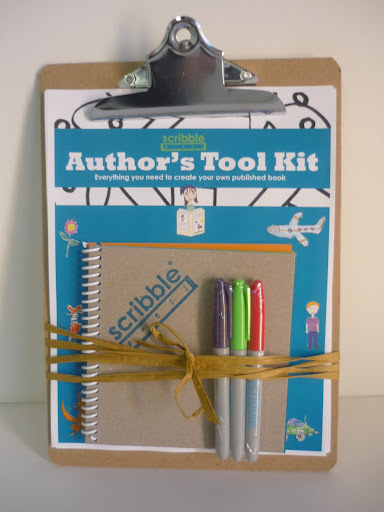 Scribble Press's Author's Tool Kit has everything you need to create a professionally bound paperback keepsake book, made by you! Available at www.scribblepress.com, $29.