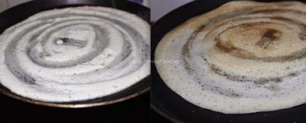 Thinai Dosai Step5