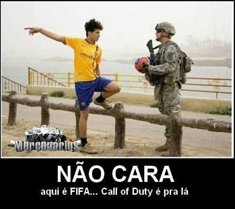 fifa vs call of duty