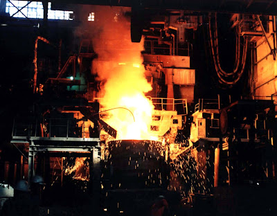 консалтинговые услуги: металлургический комбинат