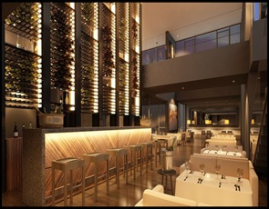 arquitectura y diseño restaurant  piagari hotel noi
