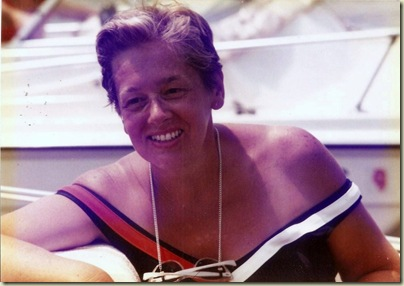 05 Mom boating maybe 1970s (1024x723)