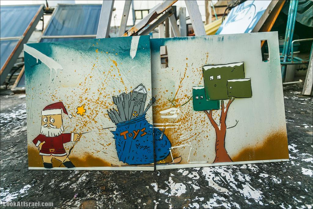 LookAtIsrael.com: Фото-блог о путешествиях по Израилю. Тель Авив, Иерусалим, Хайфа А в этот рисунок я влюбился навсегда