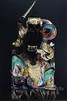 『九龍佛像藝品』-線上神明小百科-武財神趙公明-黑虎玄壇-寒單爺「炸寒單」-下篇