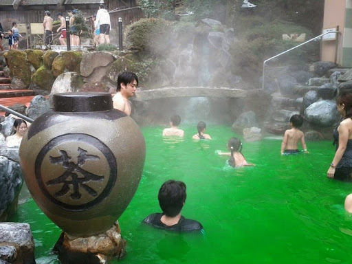 Image result for green tea pool