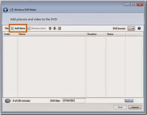 cara paling mudah memburning data DVD