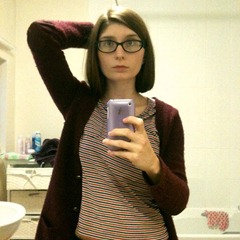Do I do it_ (Had to delete that last photo after realising how dirty my mirror was.) #haircut #bob #scaredycat