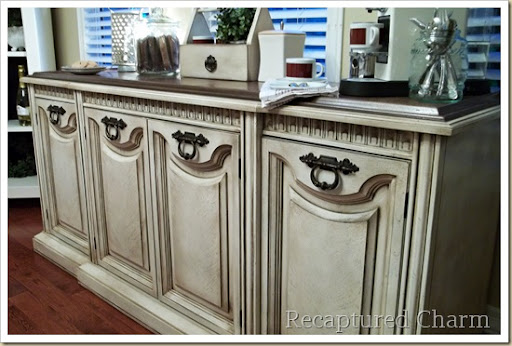 Recaptured Charm Old Buffet To New Coffee Station