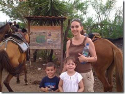 Copan Honduras horse back riding