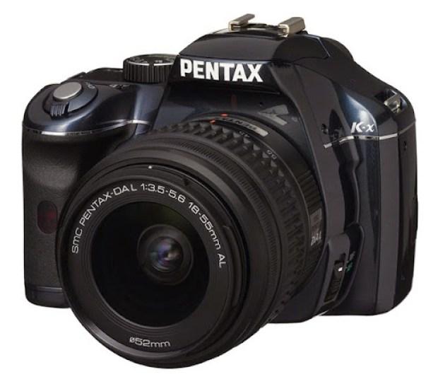 Pentax K-x DSLR camera