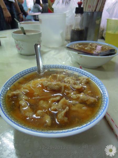 宜蘭美食, 宜蘭肉羹, 林場肉羹, 宜蘭旅遊, 小吃DSCN7076