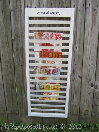bi-fold door repurposed