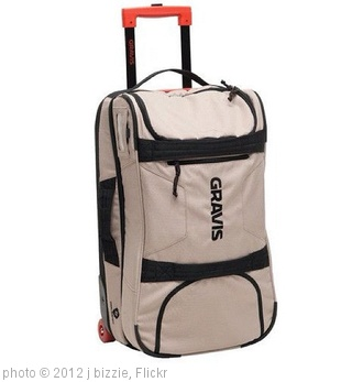 'luggage advice?! want a rollable carry on. Gravis Jetway looked best after quick research. I keep my gear in a separate padded bag.' photo (c) 2012, j bizzie - license: http://creativecommons.org/licenses/by/2.0/