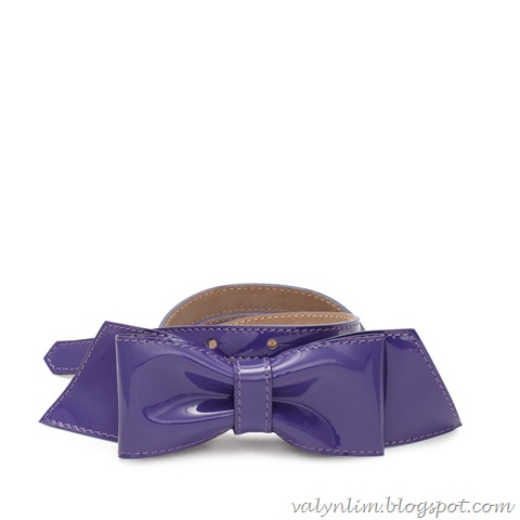 kate spade belts_gathered bow belt_african_violet