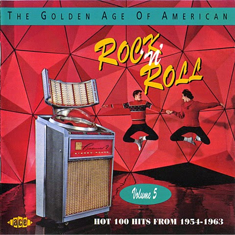 Golden Age Of American Rock 'N' Roll - Vol 5 - Booklet 01 Cover
