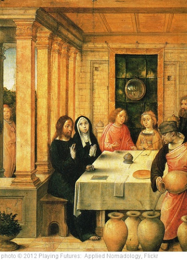 '[ F ] Juan de Flandes - The Marriage Feast at Cana (1496) - from the Polyptych of Isabella the Catholic' photo (c) 2012, Playing Futures:  Applied Nomadology - license: http://creativecommons.org/licenses/by/2.0/