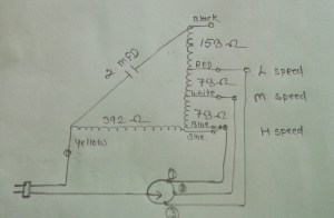 ELECTRIC & ELECTRONICS PROJECT: KHAITAN table fan (super