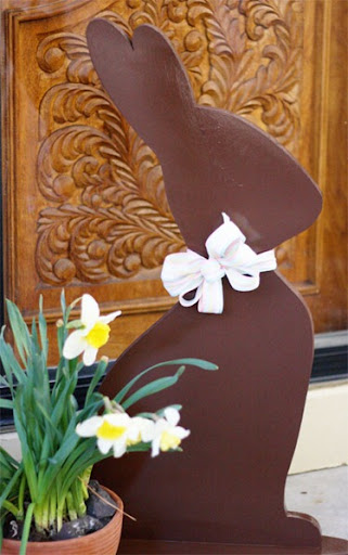 chocolate easter bunny template