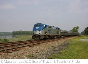 'Amtrak, Train' photo (c) 2013, Massachusetts Office of Travel & Tourism - license: http://creativecommons.org/licenses/by-nd/2.0/