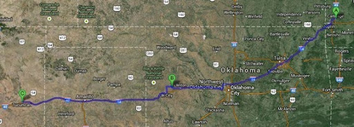 route to tucumcari