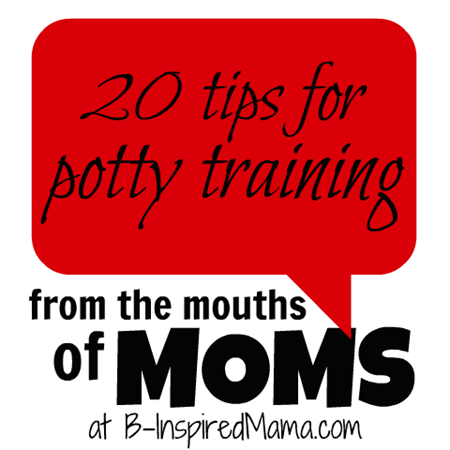 From the Mouths of Moms Potty Training