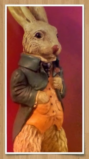 A Hare in The Hare at Loddington!
