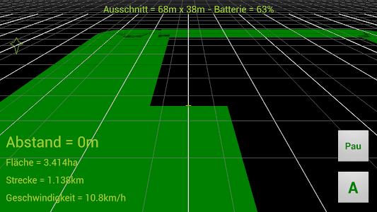 GPS Parallelfahrhilfe screenshot 8