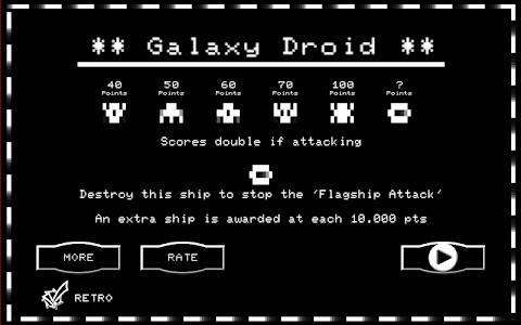 Galaxy Droid screenshot 9