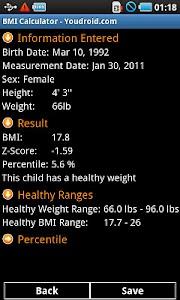 BMI Calculator Pro screenshot 4