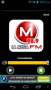 LA MEGA FM 98.9 screenshot 0