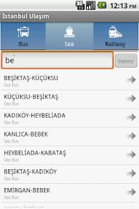Istanbul Ulasim screenshot 1